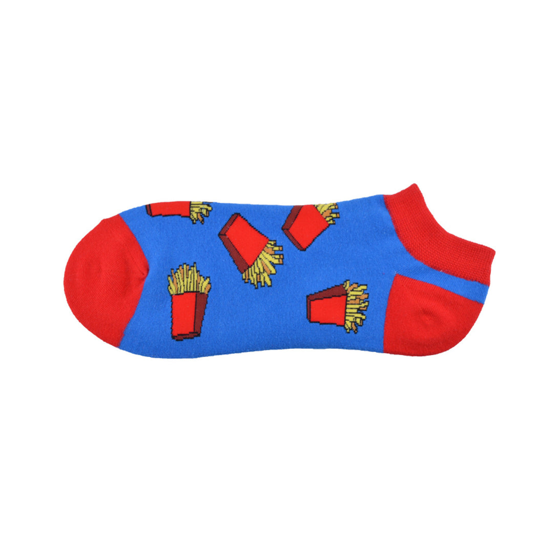 French fries on the Go Summer Crazy Socks
