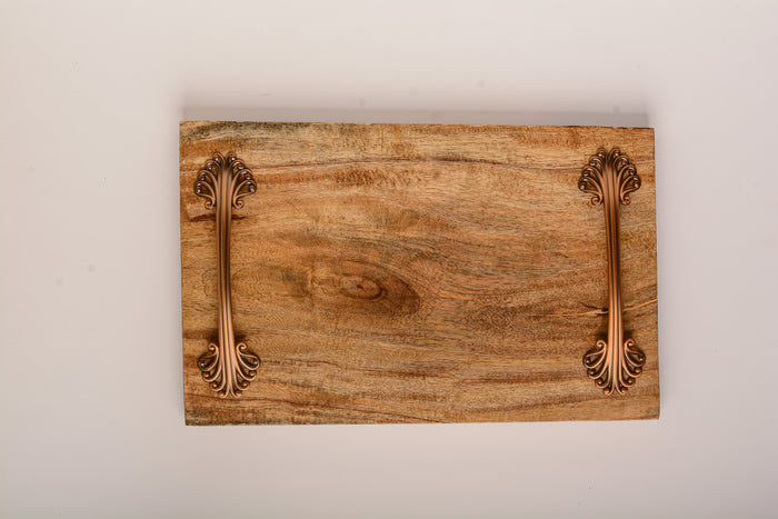 Straight Kikar Wooden Platter/Tray
