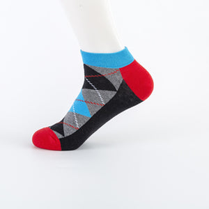 Diamond Blue Summer Crazy Socks