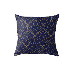 SuperSoft Navy Gold Pattern