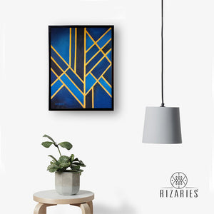 Art Deco Canvas Painting
