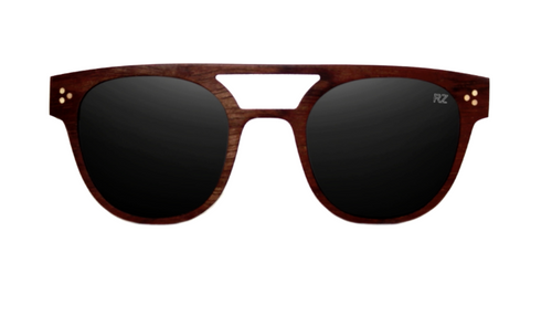 Straight Rose Wood Sunglasses