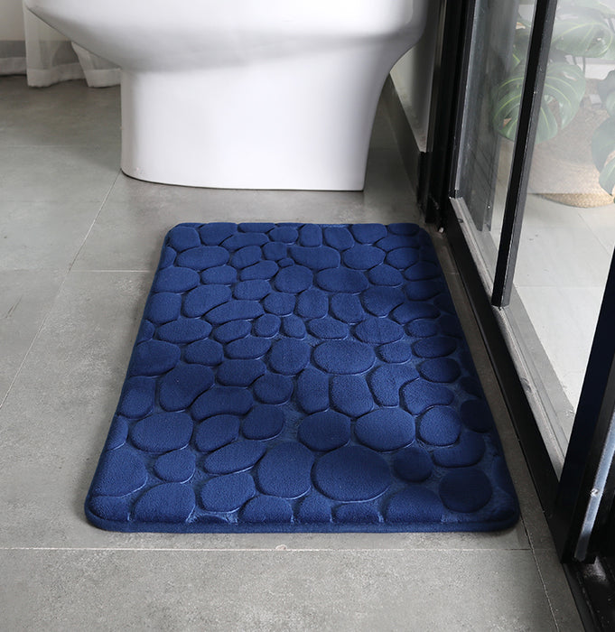 SuperSoft Memory Pebble Door/Bath Mat