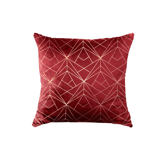 SuperSoft Elegant Geo Throw Pillow