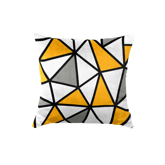 SuperSoft Yellow Geometric
