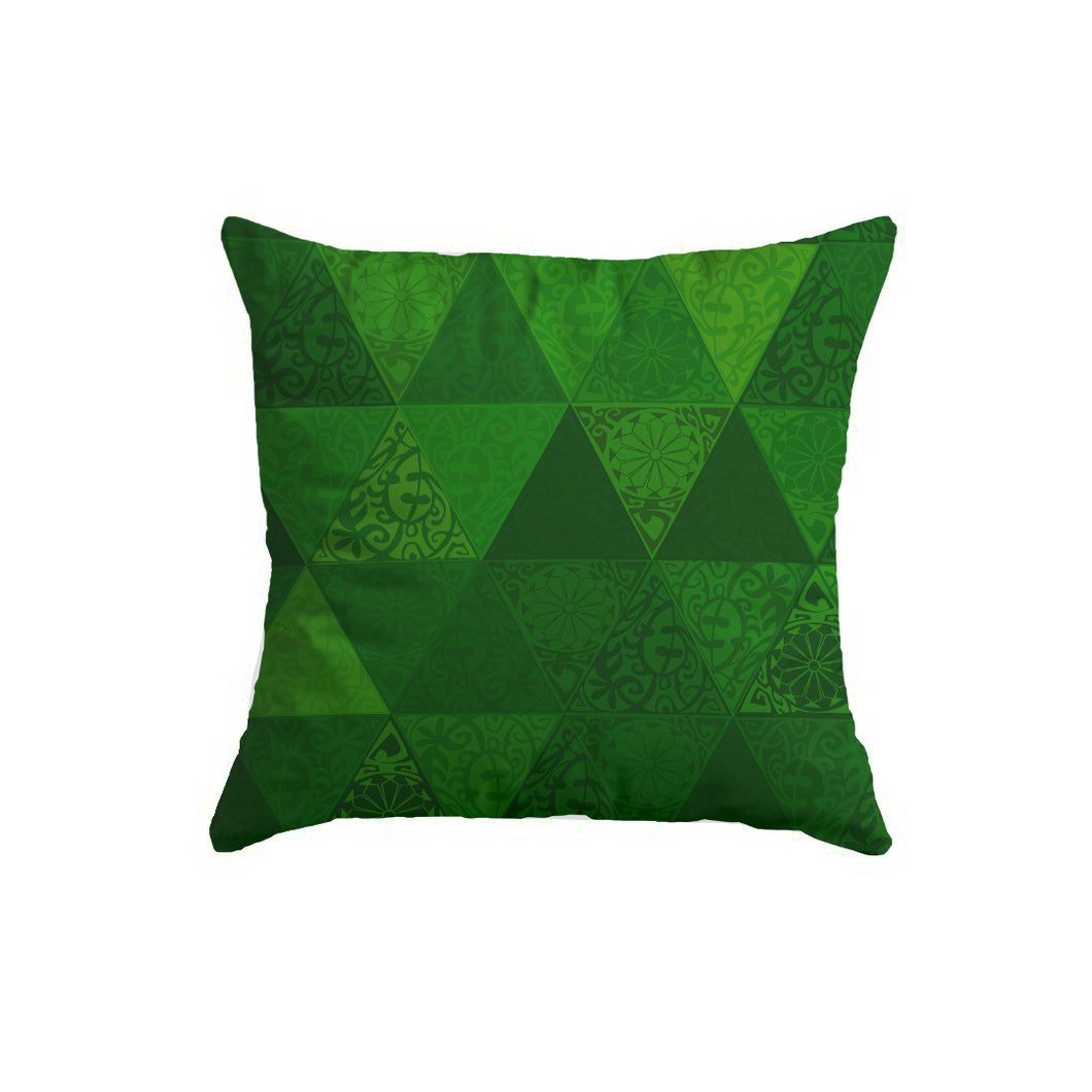 SuperSoft Green Triangles