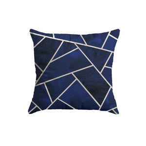 SuperSoft Navy Blue Silver Lines