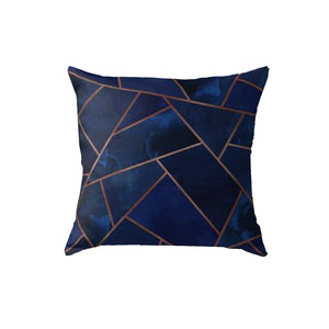 SuperSoft Navy & Copper Geo