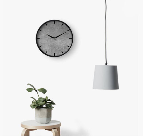 Modern Grey 2 Wall Clock