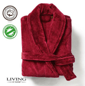 2) Velour Bathrobe (Red, Black, Purple, Fuxia)