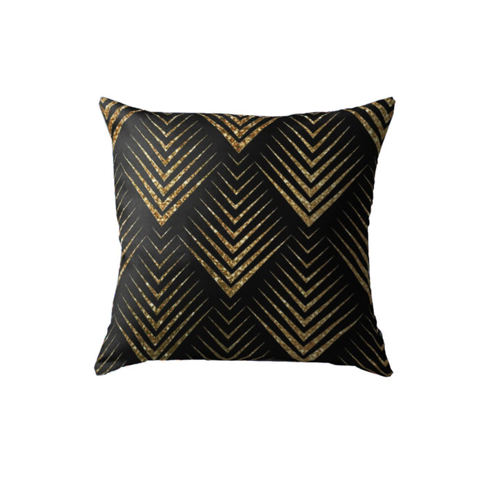 SuperSoft Black Yellow Gold Pattern