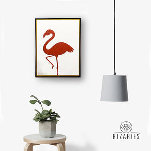 Flamingo Handmade Canvas Painting