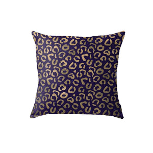 SuperSoft Leopard 1 Throw Pillow