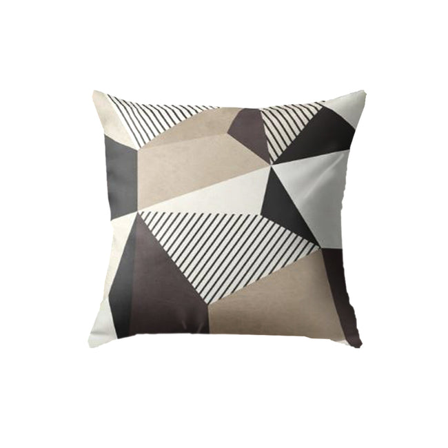 SuperSoft Brown Abstract Geometric