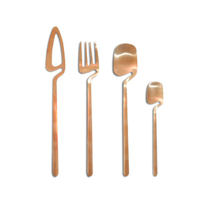 New Rose Gold Cutlery Set