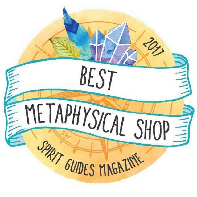 WE WON!!!!!!! Best Metaphysical Shop ~ Spirit Guides Magazine