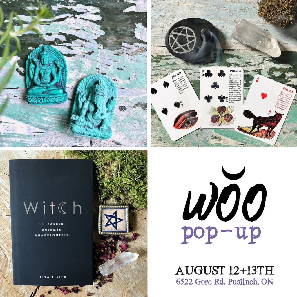 WOO pop-up August 12+13th