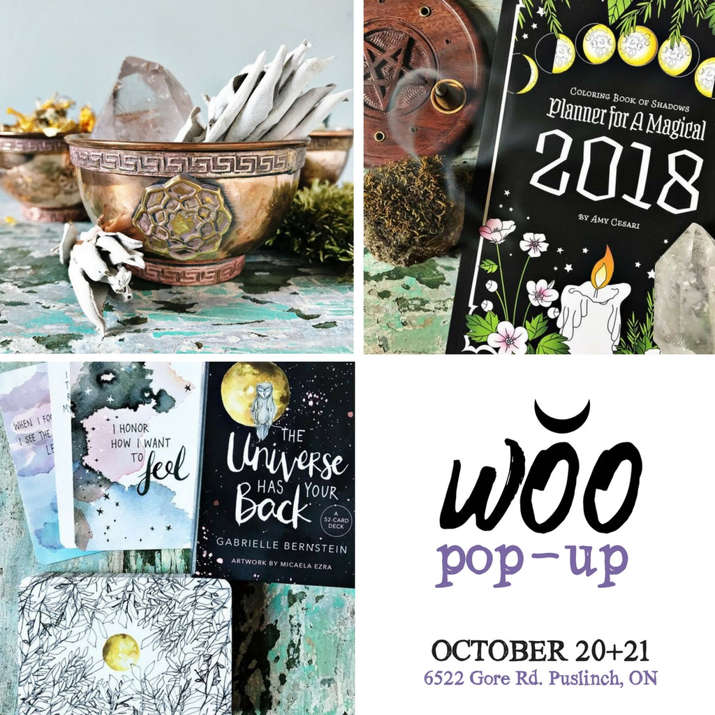 WOO Pop-up this weekend!!!!
