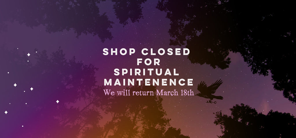 Closed for Spiritual Maintenance