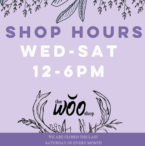 Shop hours made simple!!!!