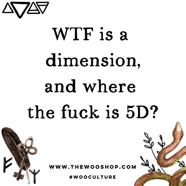 WTF is a dimension?