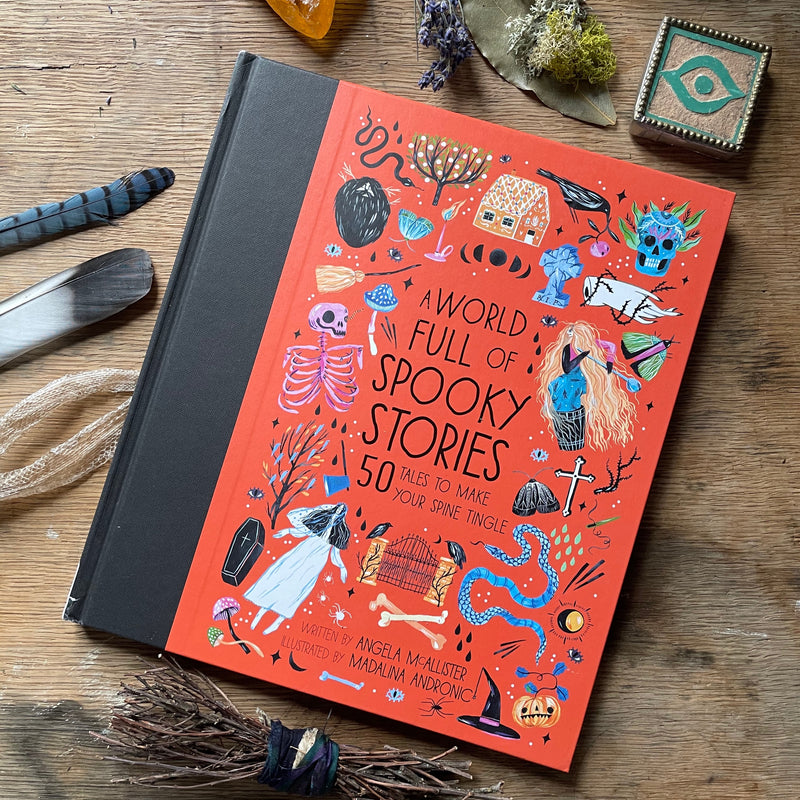 A World full of Spooky Stories by Angela Mc Allister