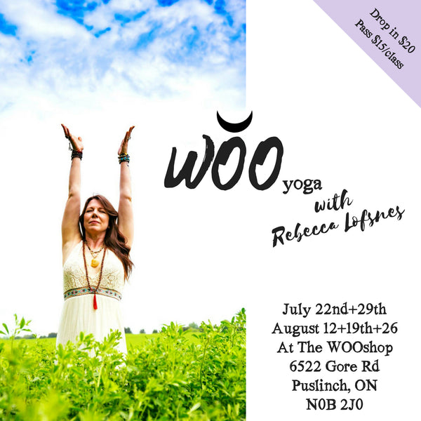 WOOyoga with Rebecca Lofsnes