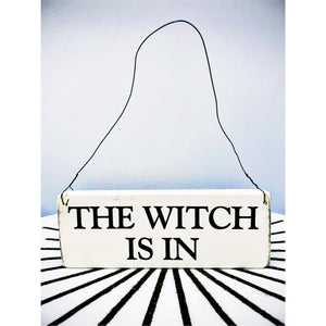 Witchy Hanging Signs
