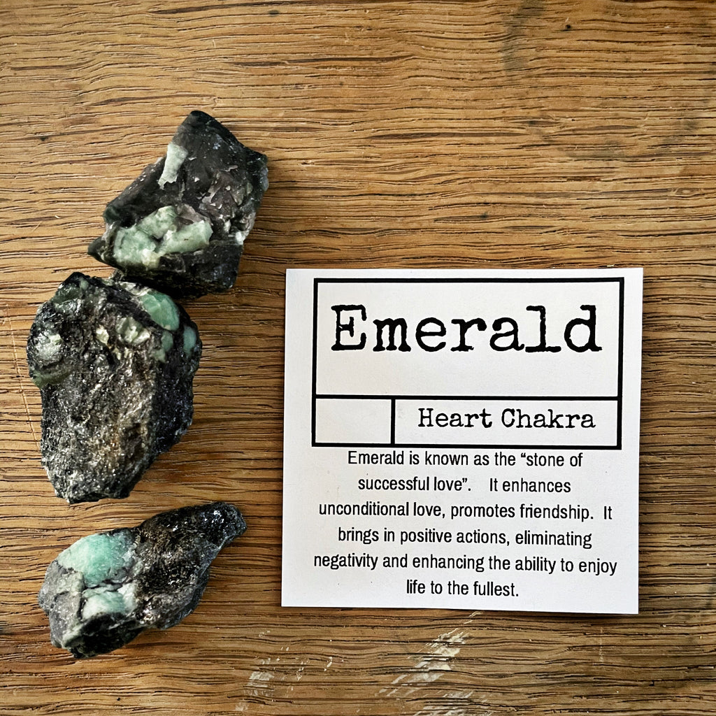 Emerald raw chunks