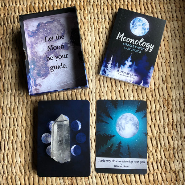 Moonology Oracle Deck ~ Yasmin Boland