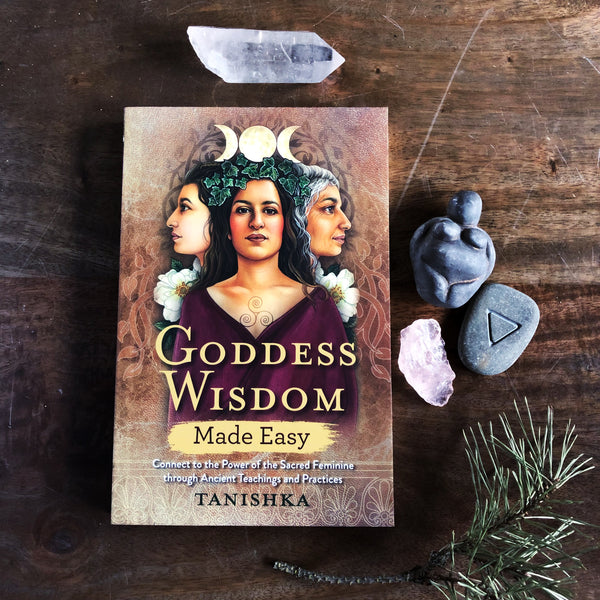 Goddess Wisdom made easy - Tanishka