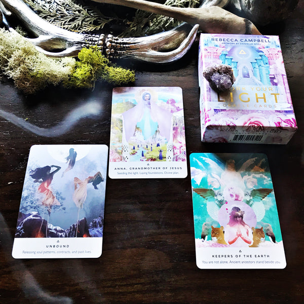 Work Your Light Oracle Cards by Rebecca Campbell
