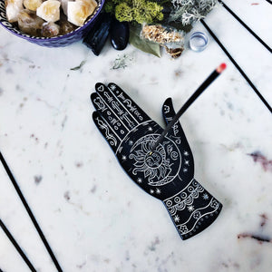 Hand incense burner