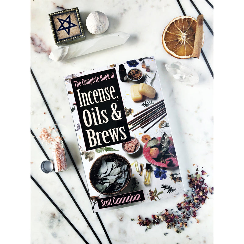 The complete book of Oils Incenses and Brews