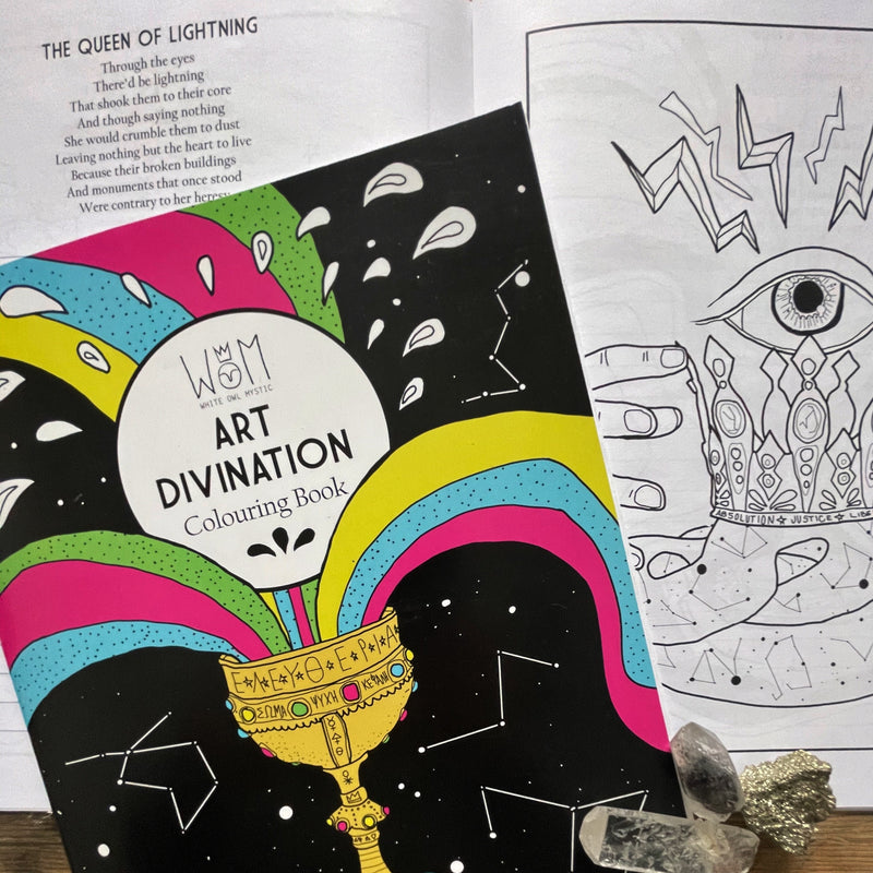 WOM - Divination Colouring book!