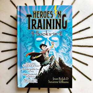 Hero's in Training ( 4 books in 1 )