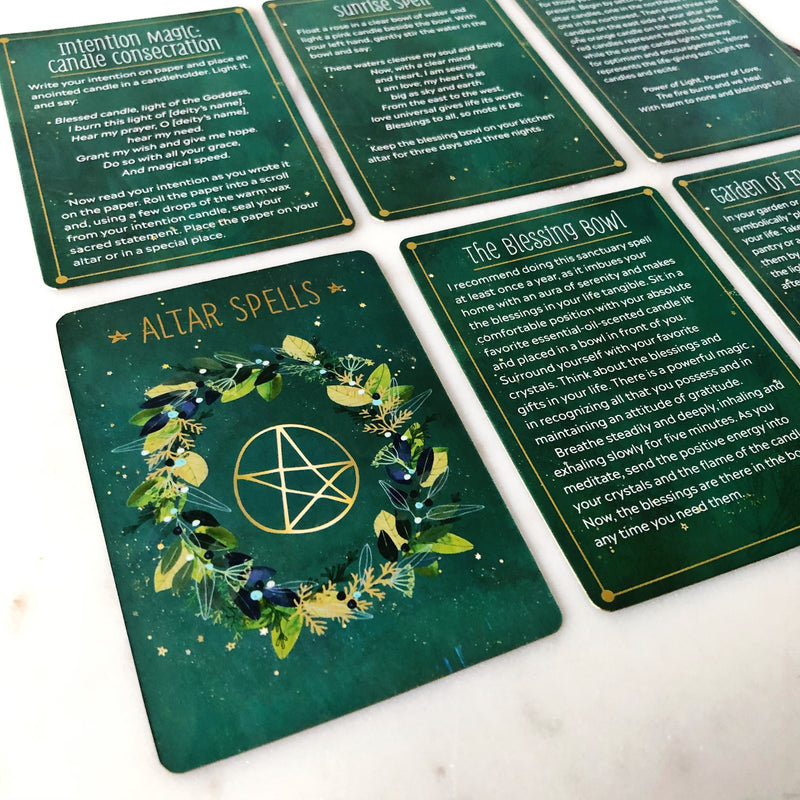 The Practical Witches Spell Deck