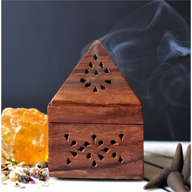 Square Incense Burner