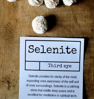 Selenite ~ Desert Rose formation