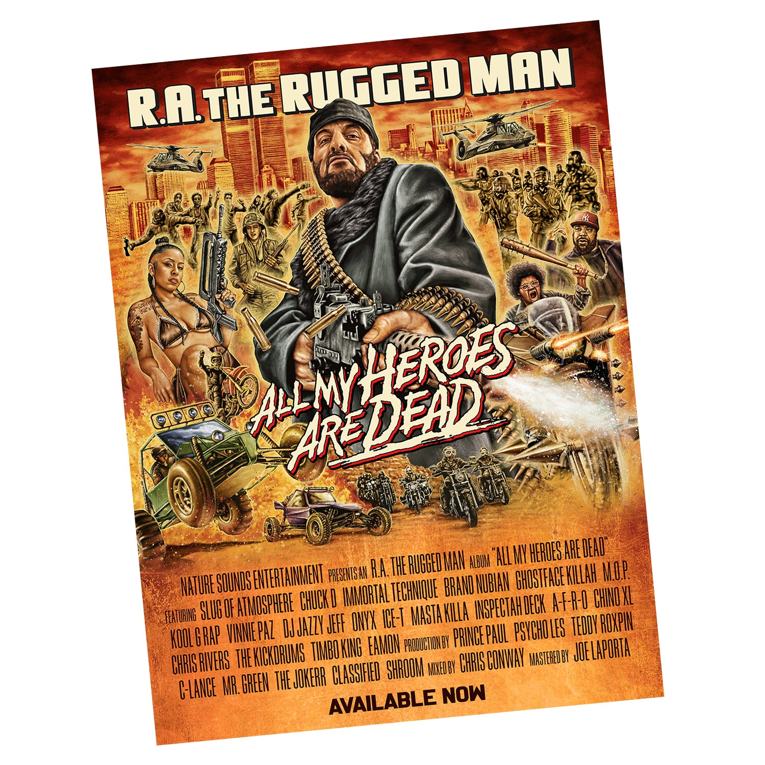 All My Heroes Are Dead Poster