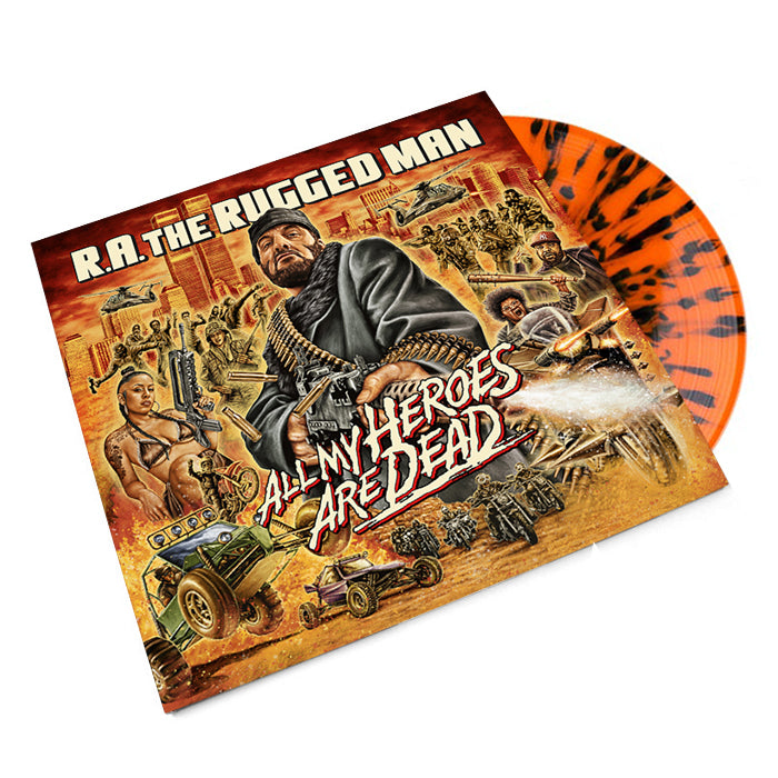 All My Heroes Are Dead (Limited Orange Splatter Colored Vinyl 3LP)