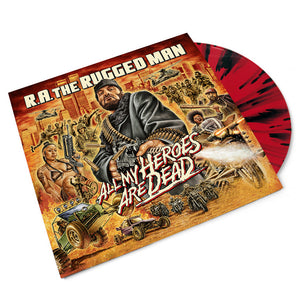 All My Heroes Are Dead (Limited Red Splatter Colored Vinyl 3LP)