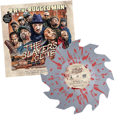 "The Slayers Club (Sawblade Shaped Colored Vinyl 10"") [PRE-ORDER]"