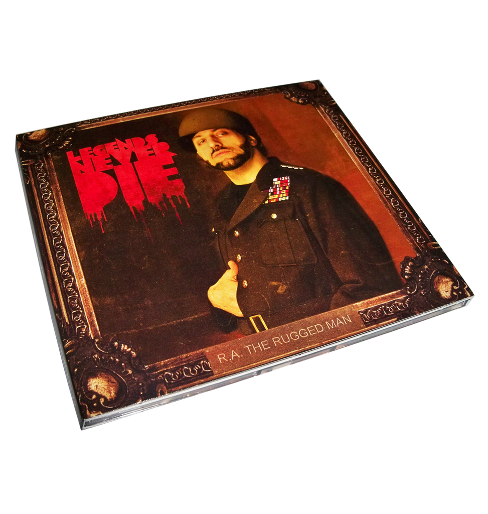 Legends Never Die (CD)