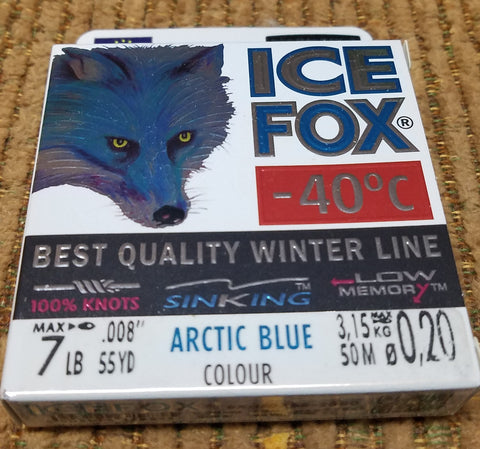 ICE FOX LINE - Designed for winter fishing