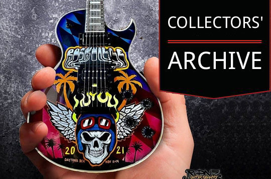 Collectors' Archive of Mini Guitars by AXE HEAVEN®