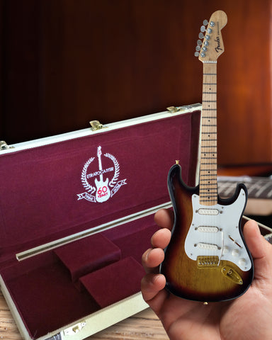 60th Anniversary Fender™ Sunburst Strat™ Guitar & Case Set Collection