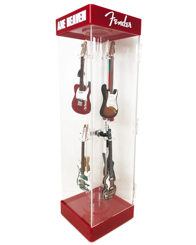 Custom Collectors Mini Guitar Acrylic Display Case by AXE HEAVEN