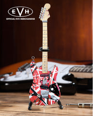 "EVH ""Frankenstein"" Eddie Van Halen Mini Guitar Replica Collectible - Officially Licensed"