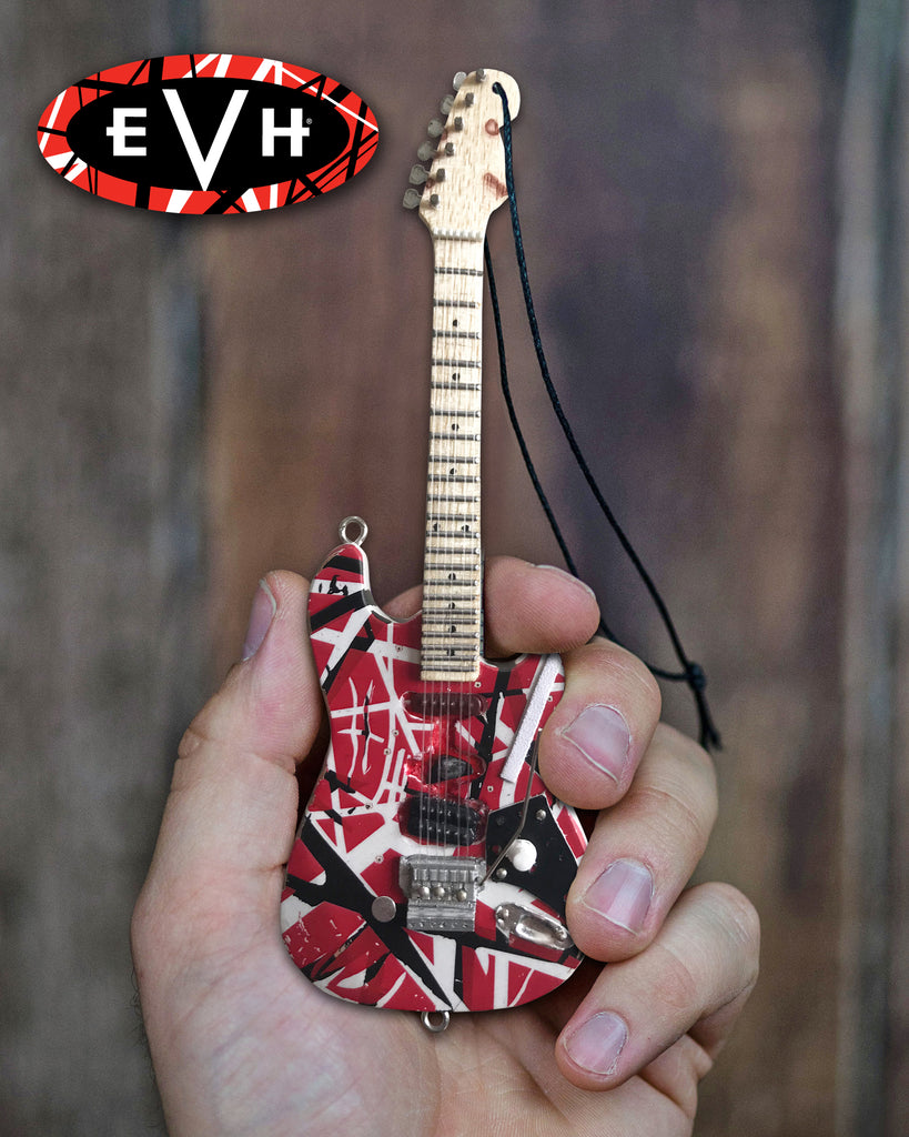 "6"" Officially Licensed EVH Frankenstein Guitar Holiday Ornament"
